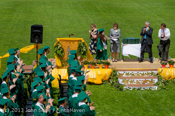 2555 Vashon Island High School Graduation 2013 061513