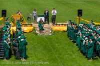 2557 Vashon Island High School Graduation 2013 061513