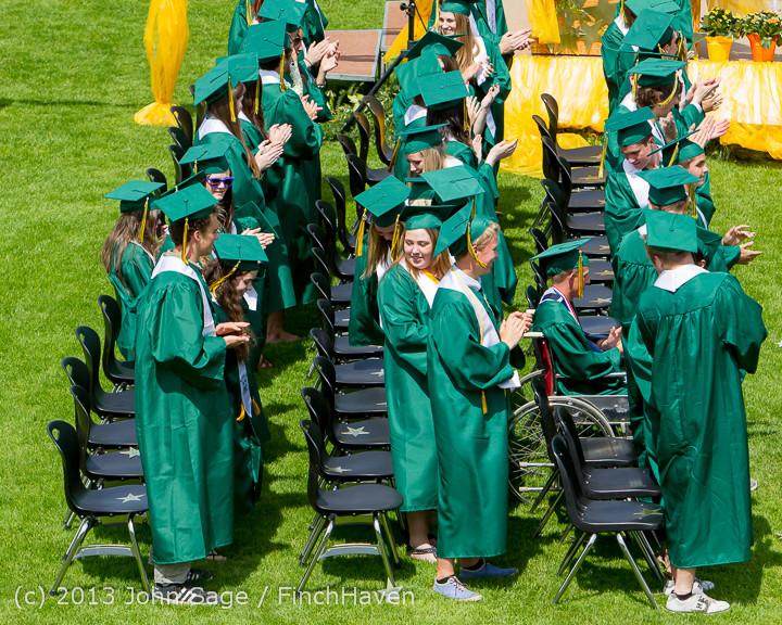 2568 Vashon Island High School Graduation 2013 061513