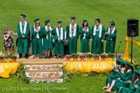 2687-a Vashon Island High School Graduation 2013 061513