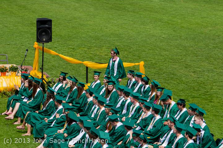 2696 Vashon Island High School Graduation 2013 061513