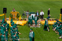 2700 Vashon Island High School Graduation 2013 061513
