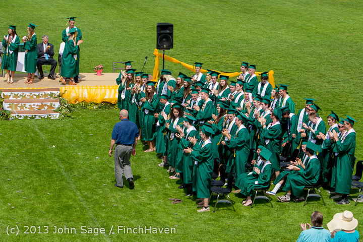 2778 Vashon Island High School Graduation 2013 061513