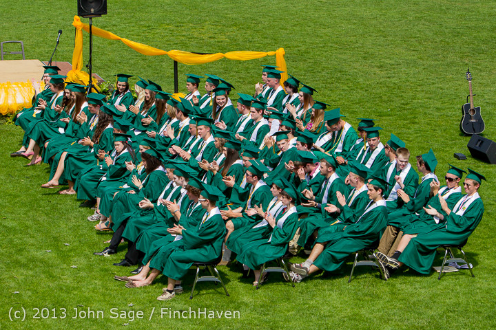 2878 Vashon Island High School Graduation 2013 061513