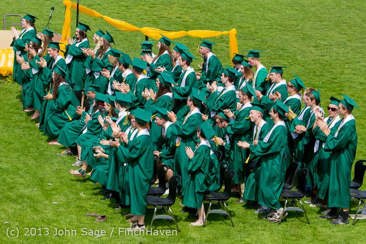 2885 Vashon Island High School Graduation 2013 061513