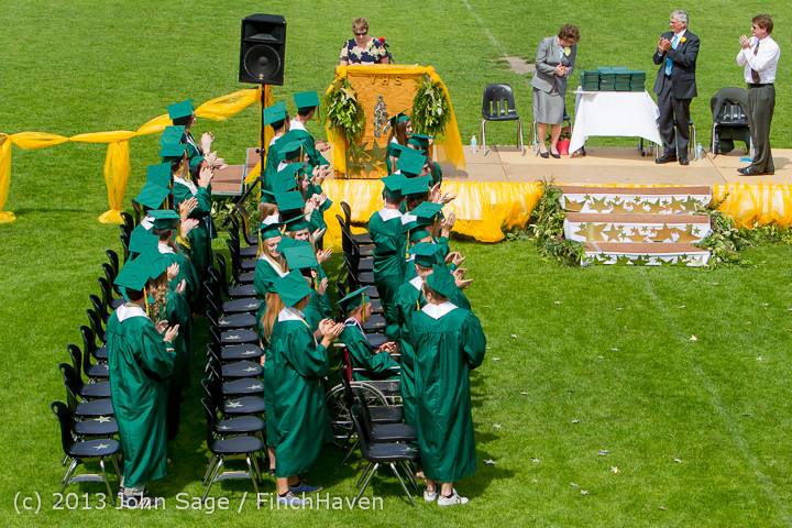 2888 Vashon Island High School Graduation 2013 061513