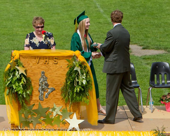 2979 Vashon Island High School Graduation 2013 061513