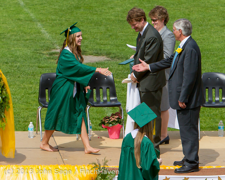 2989 Vashon Island High School Graduation 2013 061513