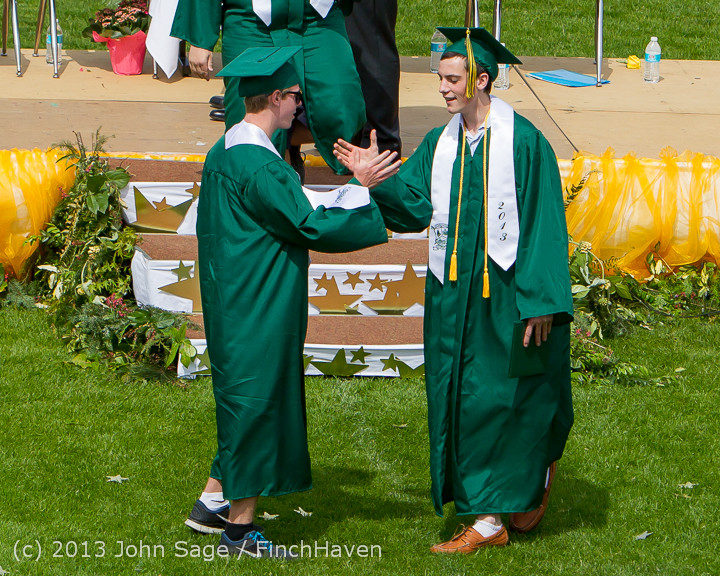 3015 Vashon Island High School Graduation 2013 061513