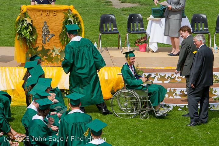 3054 Vashon Island High School Graduation 2013 061513