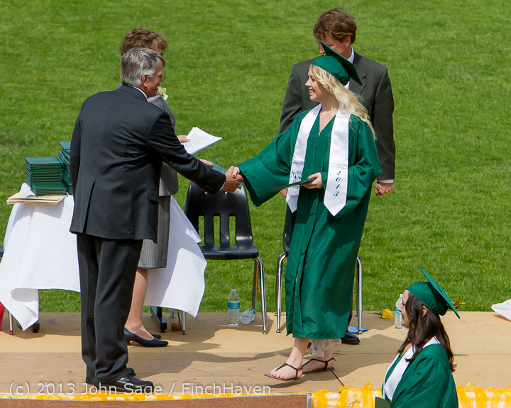 3082 Vashon Island High School Graduation 2013 061513