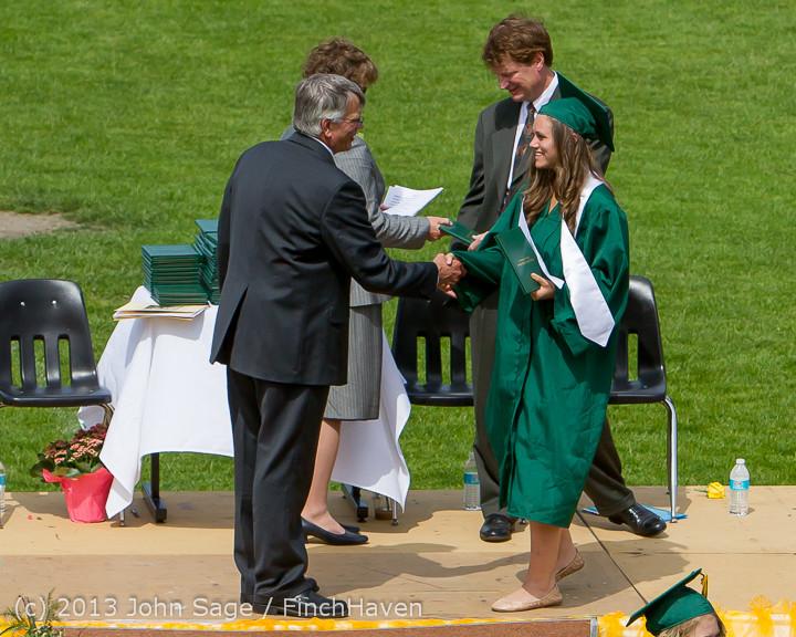 3092 Vashon Island High School Graduation 2013 061513