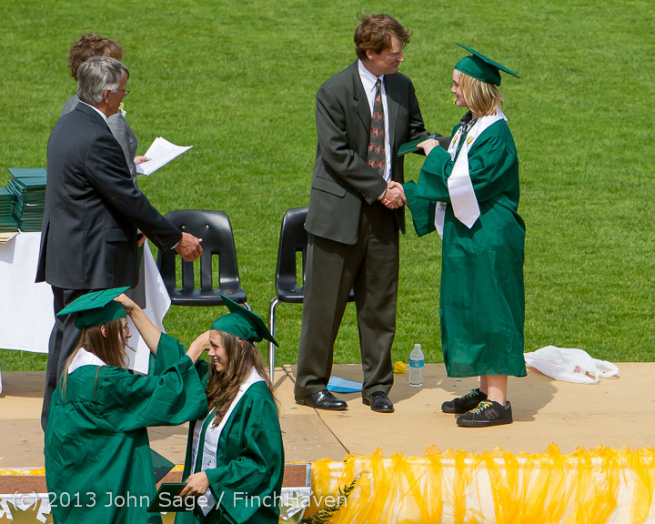 3102 Vashon Island High School Graduation 2013 061513