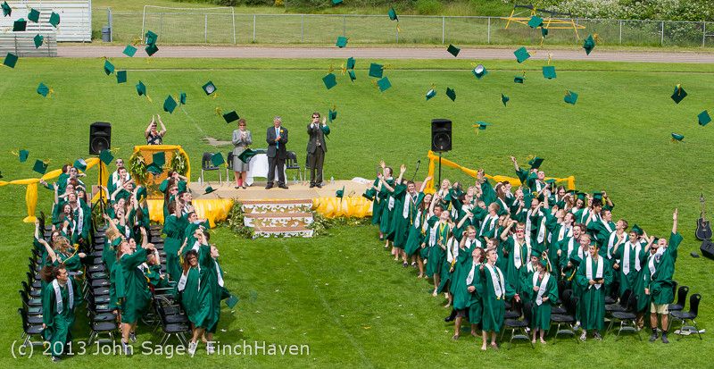 3545-3546 Vashon Island High School Graduation 2013 061513