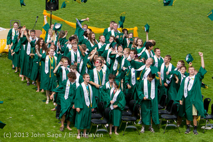 3556 Vashon Island High School Graduation 2013 061513