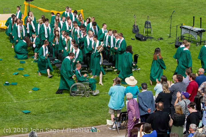 3569 Vashon Island High School Graduation 2013 061513