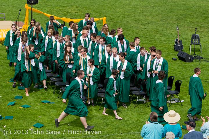 3573 Vashon Island High School Graduation 2013 061513