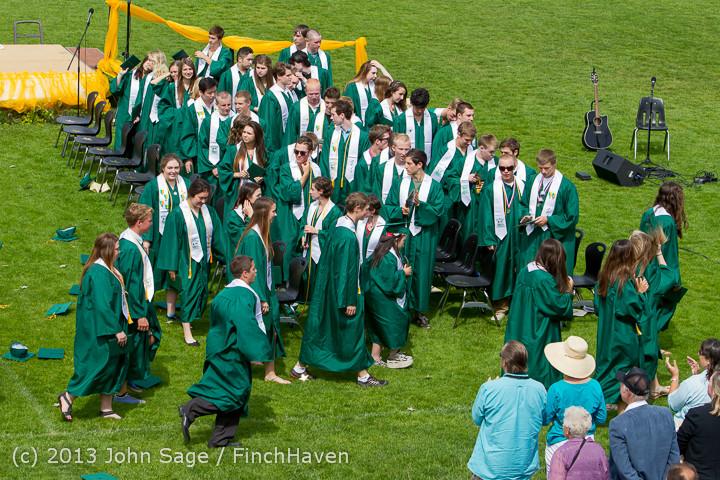 3582 Vashon Island High School Graduation 2013 061513