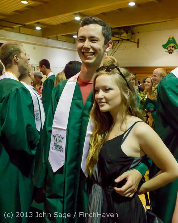 3672 Vashon Island High School Graduation 2013 061513