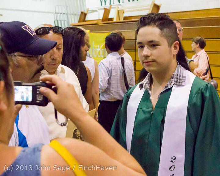 3689 Vashon Island High School Graduation 2013 061513