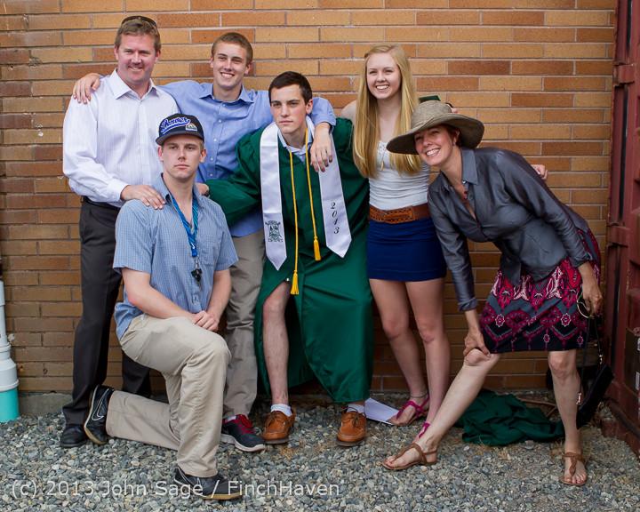 3740 Vashon Island High School Graduation 2013 061513