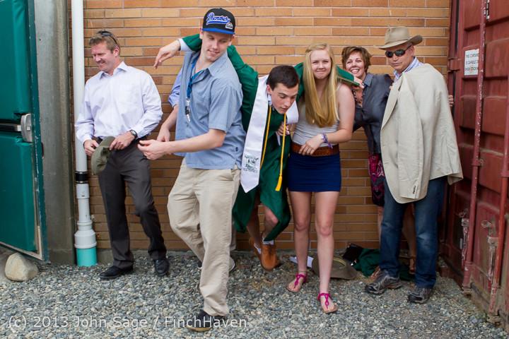 3746 Vashon Island High School Graduation 2013 061513