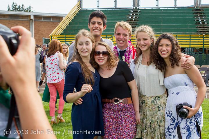 3791 Vashon Island High School Graduation 2013 061513