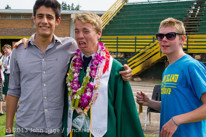 3797 Vashon Island High School Graduation 2013 061513