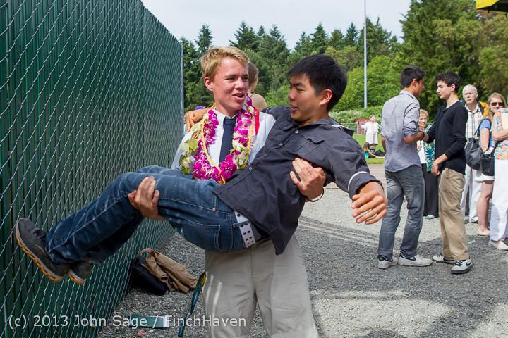 3873 Vashon Island High School Graduation 2013 061513