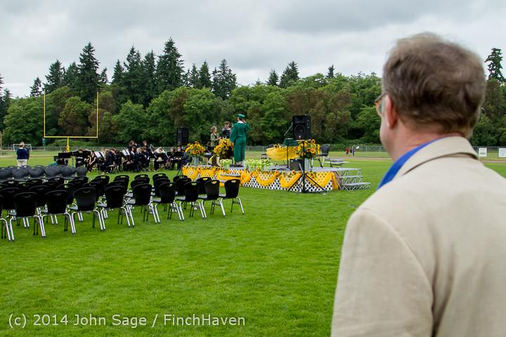 2843 Vashon Island High School Graduation 2014 061414