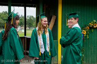 2855 Vashon Island High School Graduation 2014 061414