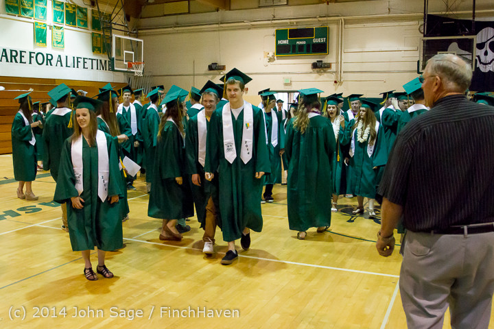2862 Vashon Island High School Graduation 2014 061414