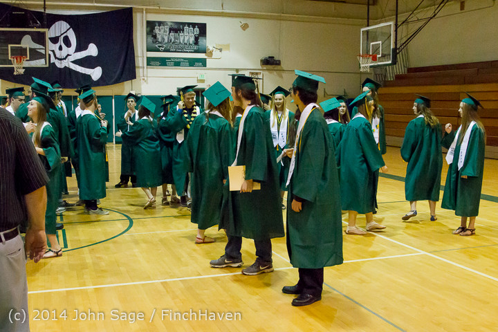 2863 Vashon Island High School Graduation 2014 061414