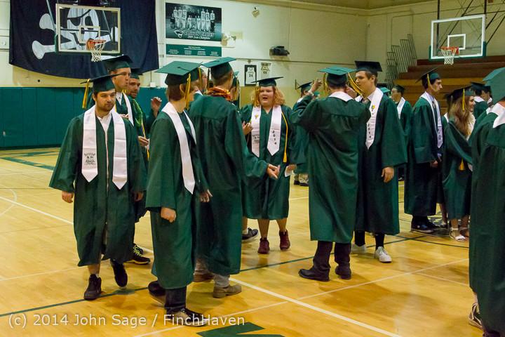 2865 Vashon Island High School Graduation 2014 061414