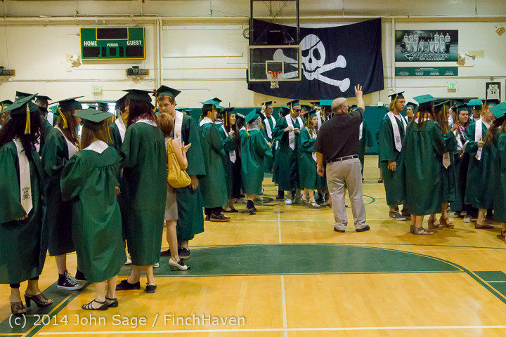 2868 Vashon Island High School Graduation 2014 061414