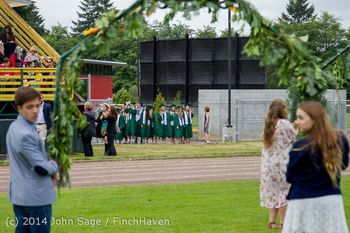 2892 Vashon Island High School Graduation 2014 061414