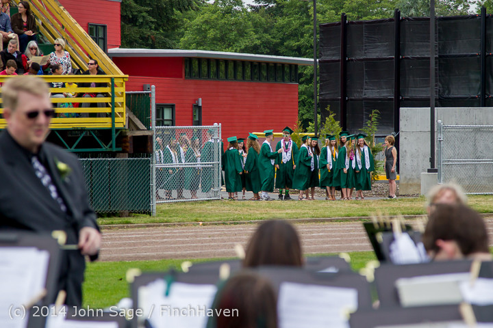 2901 Vashon Island High School Graduation 2014 061414