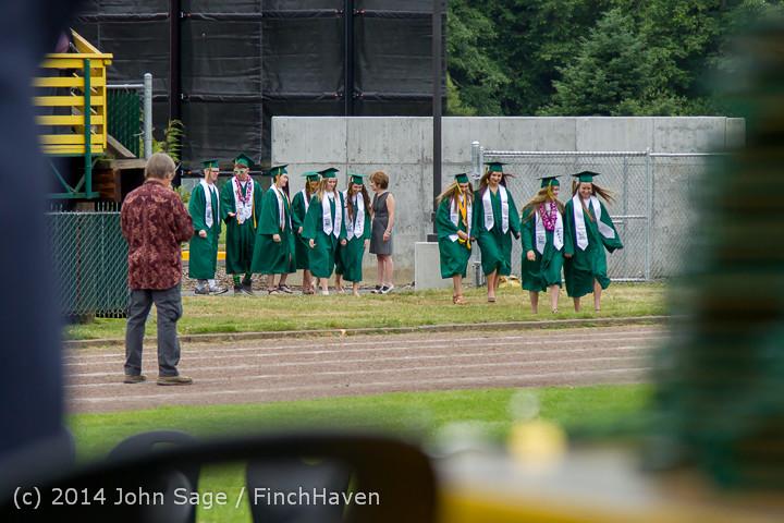 2909 Vashon Island High School Graduation 2014 061414