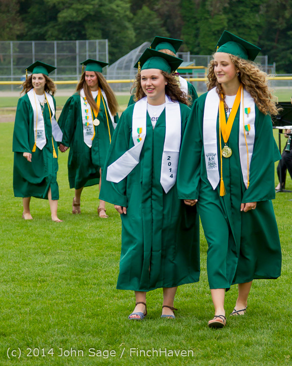 2926 Vashon Island High School Graduation 2014 061414