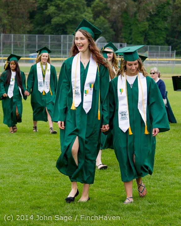 2935 Vashon Island High School Graduation 2014 061414