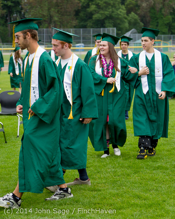 2952 Vashon Island High School Graduation 2014 061414