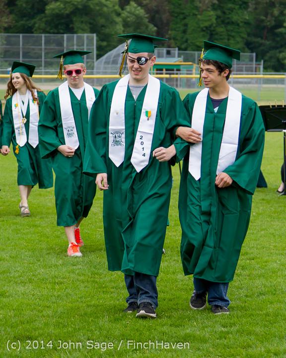 2956 Vashon Island High School Graduation 2014 061414