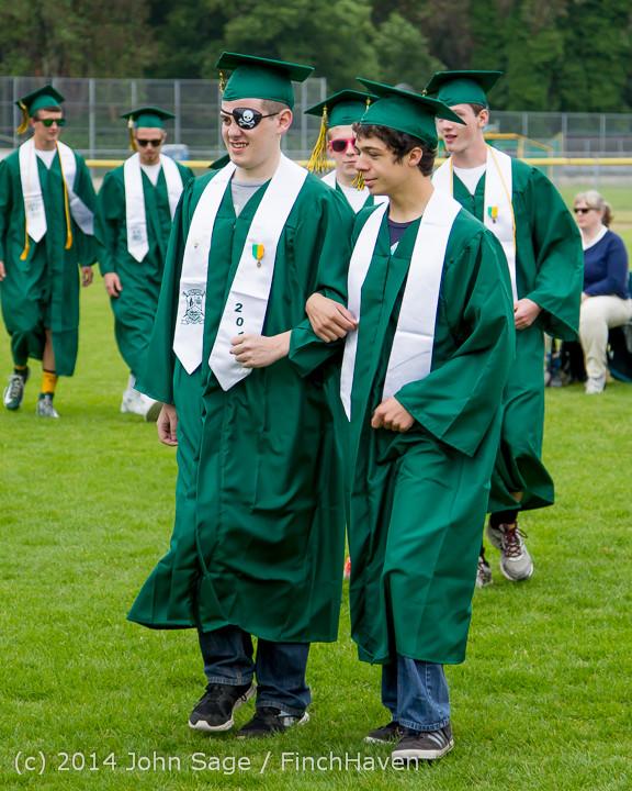 2958 Vashon Island High School Graduation 2014 061414