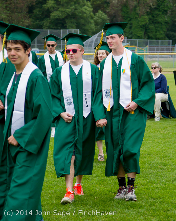 2959 Vashon Island High School Graduation 2014 061414