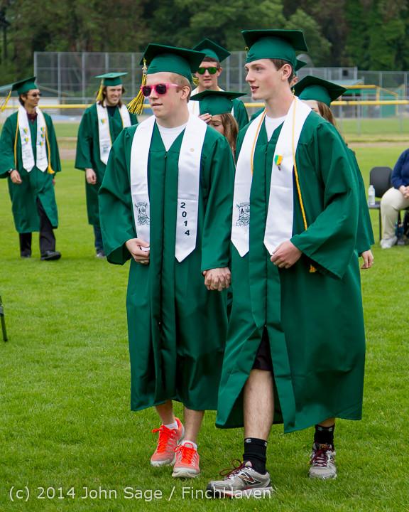 2961 Vashon Island High School Graduation 2014 061414