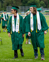 2966 Vashon Island High School Graduation 2014 061414