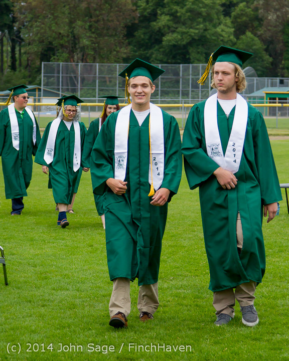 2978 Vashon Island High School Graduation 2014 061414