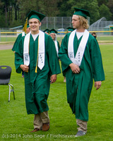 2980 Vashon Island High School Graduation 2014 061414