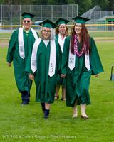 2981 Vashon Island High School Graduation 2014 061414