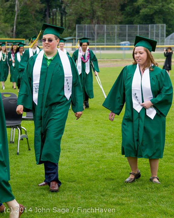 2985 Vashon Island High School Graduation 2014 061414